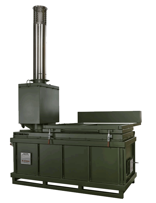 100Kg/Hr Animal Waste Incinerator