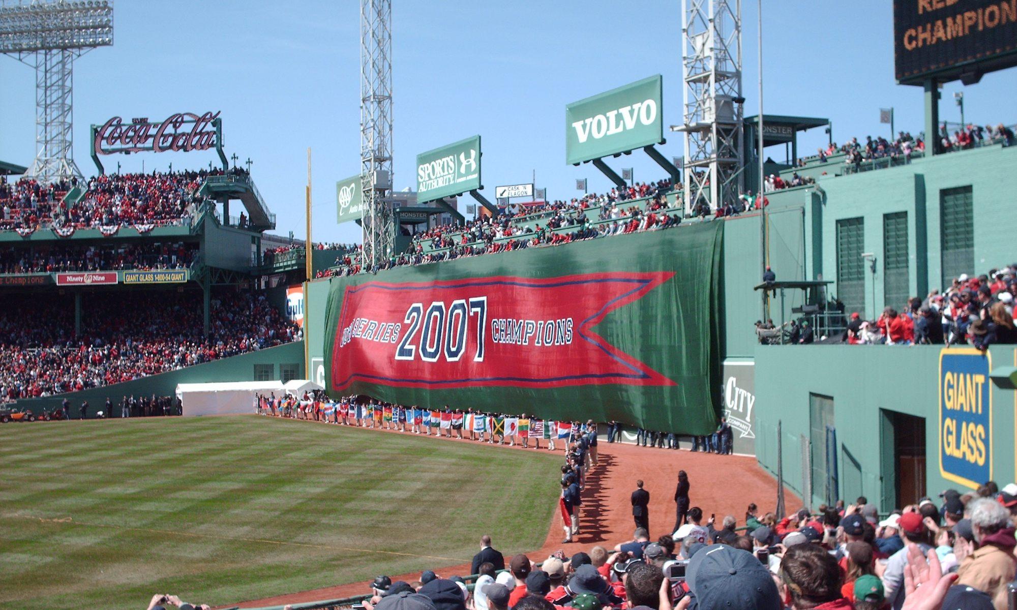 Boston Reach The Bleachers