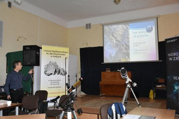 Presentation of Sally Ride EarthKAM Programme // Prezentarea programului Sally Ride EarthKAM