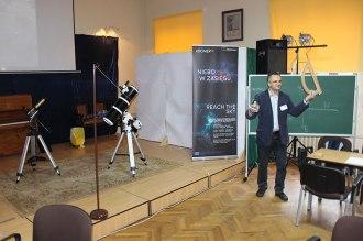 Astronomy demmonstrative lessons // Lecție demonstrativă de astronomie