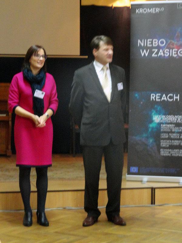Polish Project Coordinator and Polish School's Headmaster // Coordonatorul de proiect și directorul școlii din Polonia