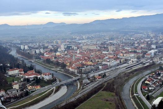 Celje, Slovenia - view from the Castle