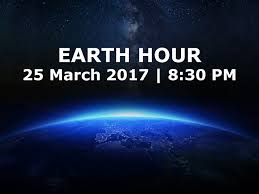 Earth Hour 2017 poster
