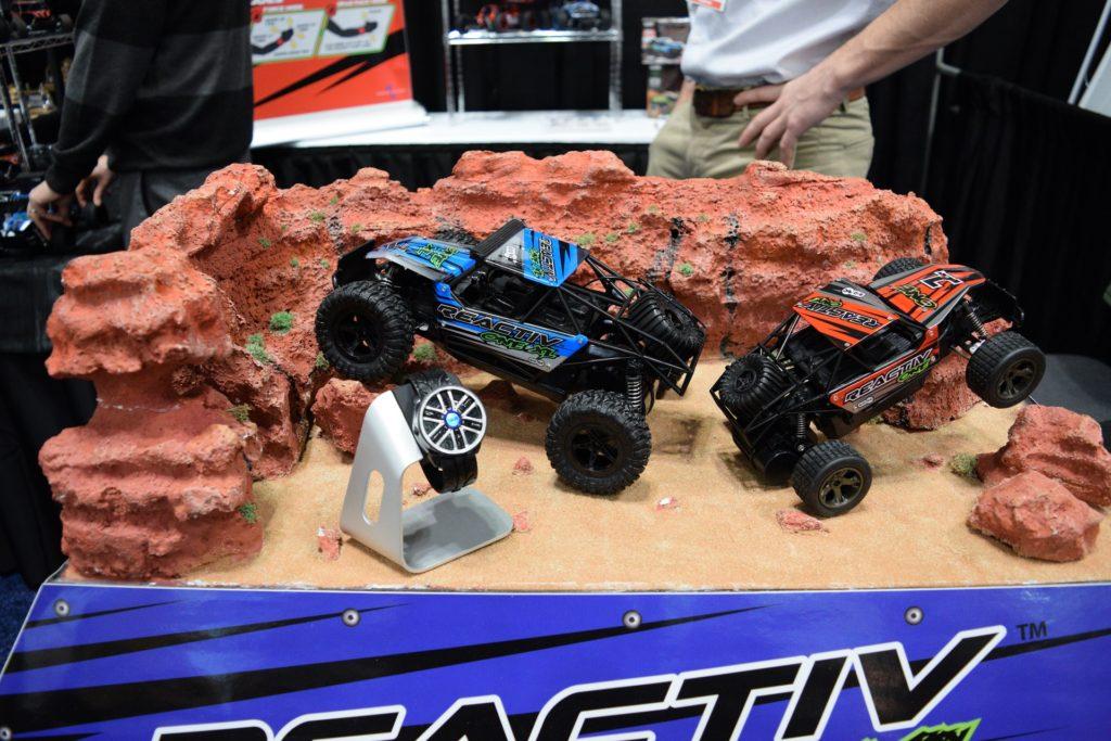 Reactiv display at NY Toy Fair