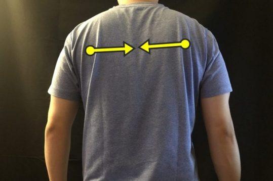 上腕三頭筋を効かせる、肩甲骨の位置とは??