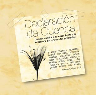La Declaración de Cuenca, un llamado mundial a la acción frente a la resistencia bacteriana a los antibióticos