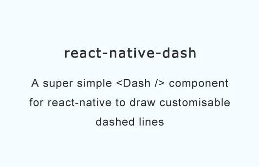 a super simple dash