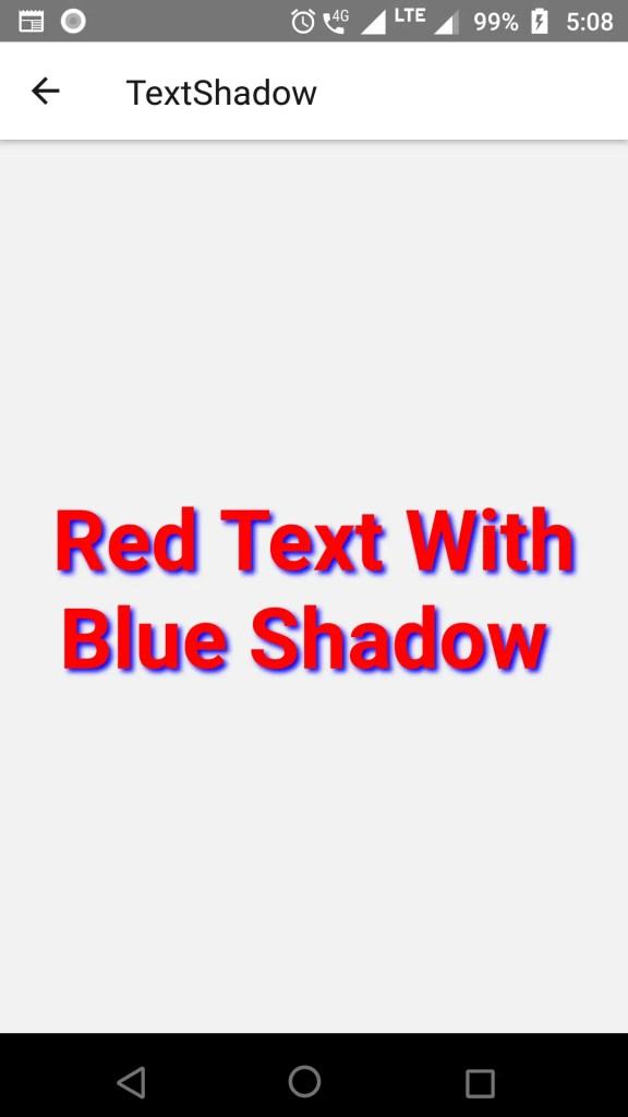 react native text shadow