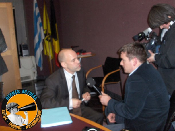 Huidig sp.a-burgemeester Jo Fonck wiens mandaat stilaan nadert.