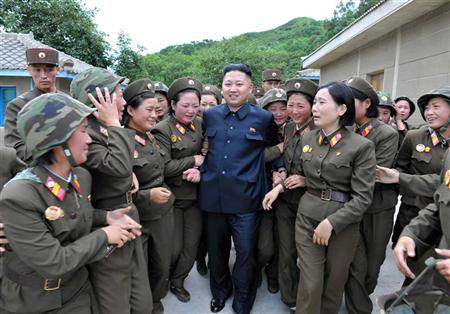 Kim Jong-un als idool voor de vrouwelijke helft van Noord-Korea.