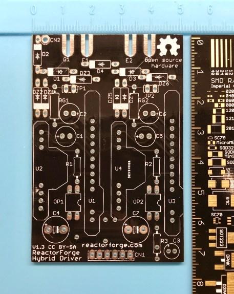 RF-HD2 Hybrid Driver PCB Front