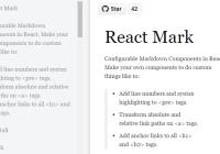 React Mark