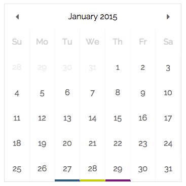 Easy & Stunning Calendar Component For React