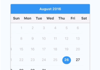 react-native-calendar-datepicker