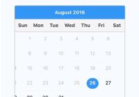 react-native-calendar-datepicker