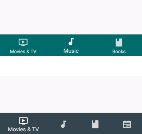 Material Design Bottom Navigation For React Native | Reactscript