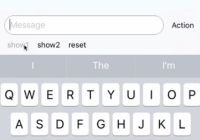 React Native Keyboard Input