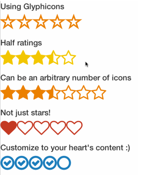 React Icon Rating Component