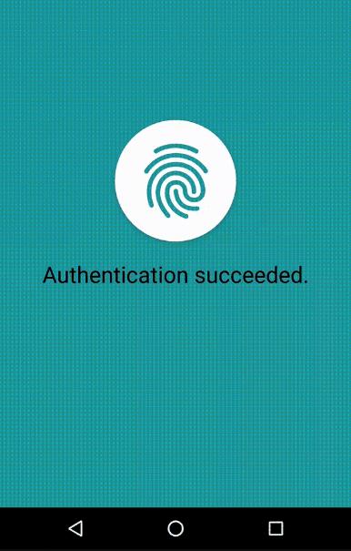 React Native Fingerprint Android Component