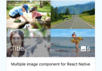 Card Media Component For React Native