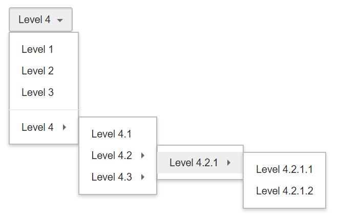 Customizable React Dropdown Component