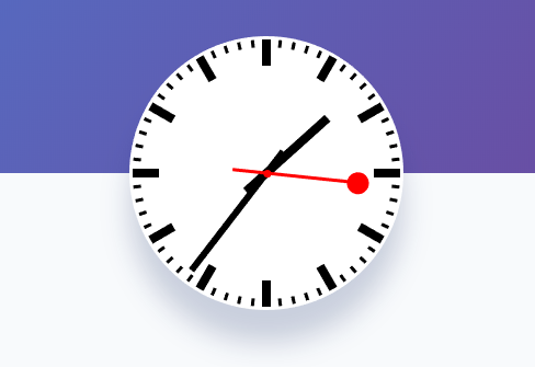 Analog Clock For React
