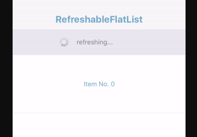 React Native Refreshable FlatList-min