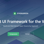 React UI Framework – Evergreen