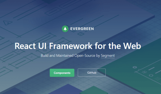 React UI Framework - Evergreen-min