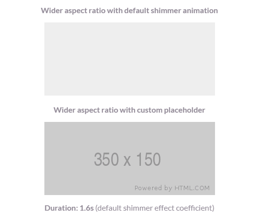 Image Shimmer Effect While Loading - react-shimmer