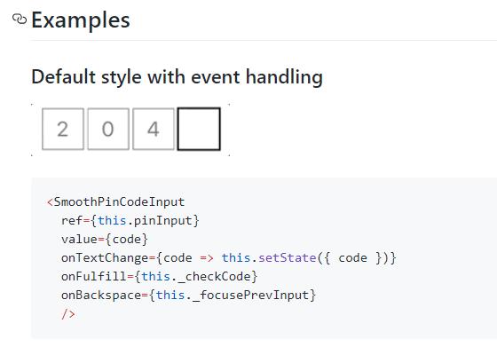 React Native Smooth Pincode Input-min