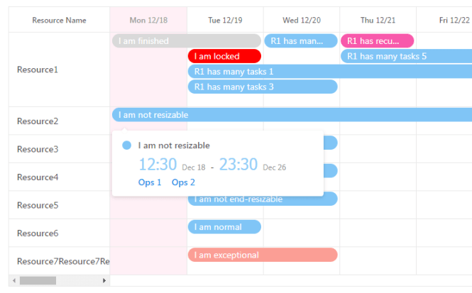 Dynamic Calendar Scheduler For React - react-big-scheduler