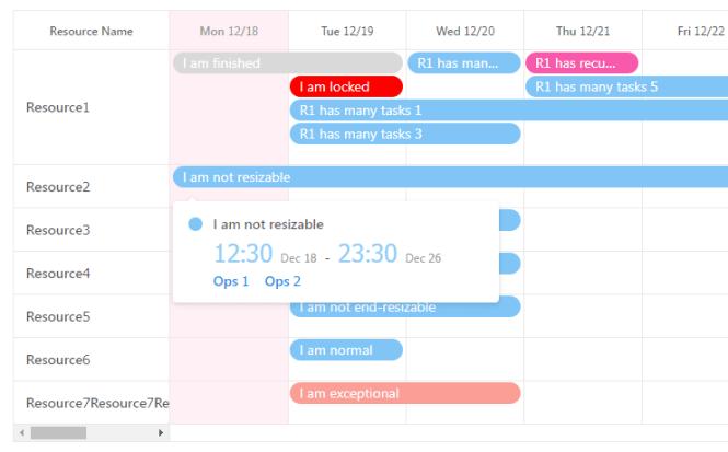 Dynamic Calendar Scheduler For React - react-big-scheduler