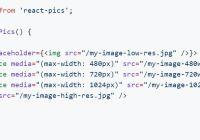 Small Image Lazy Loading Component - React Pics