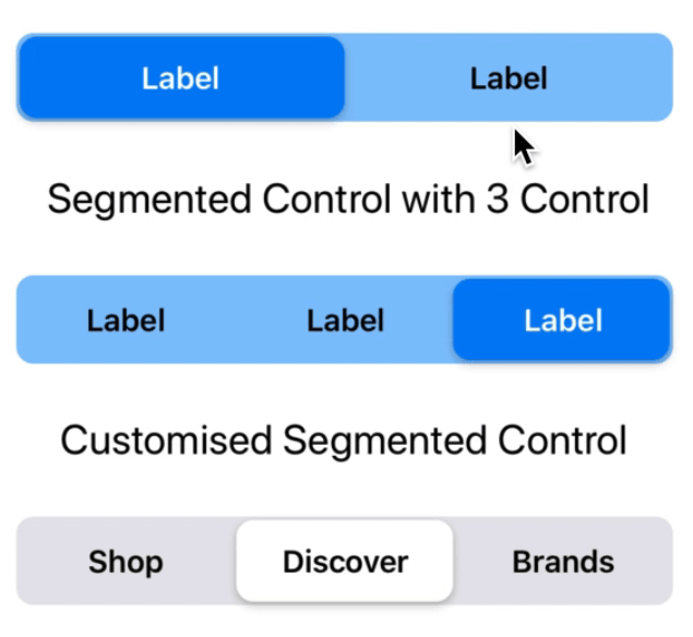 Segmented Control For React Native