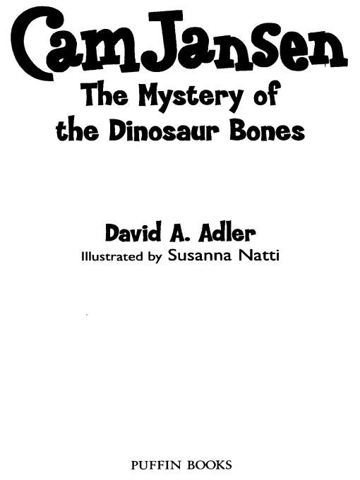 "Read online ""Cam Jansen & Mystery of the Dinosaur Bon"