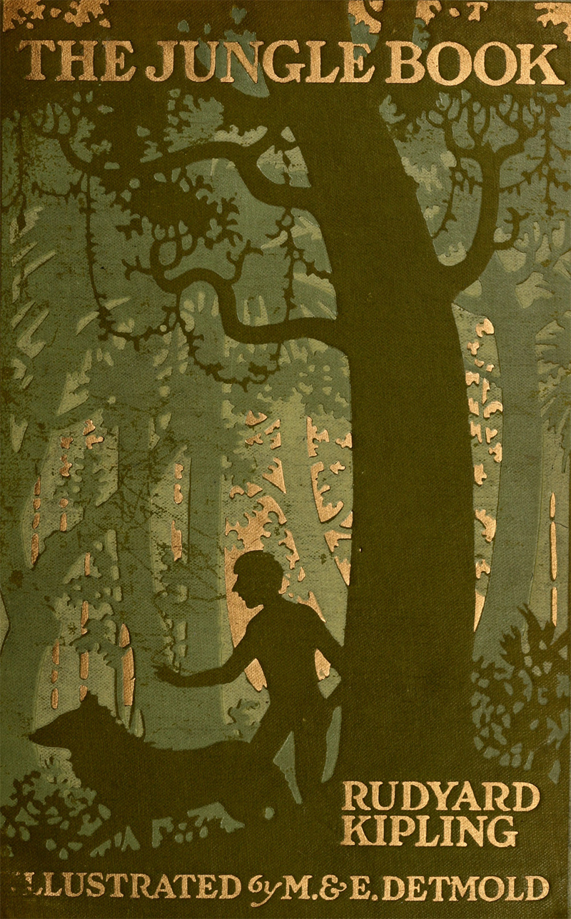 Image result for the jungle book cover