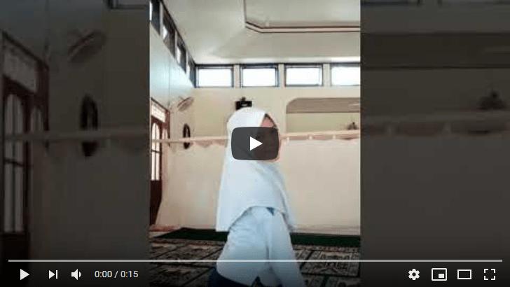 Joget ertois di Masjid