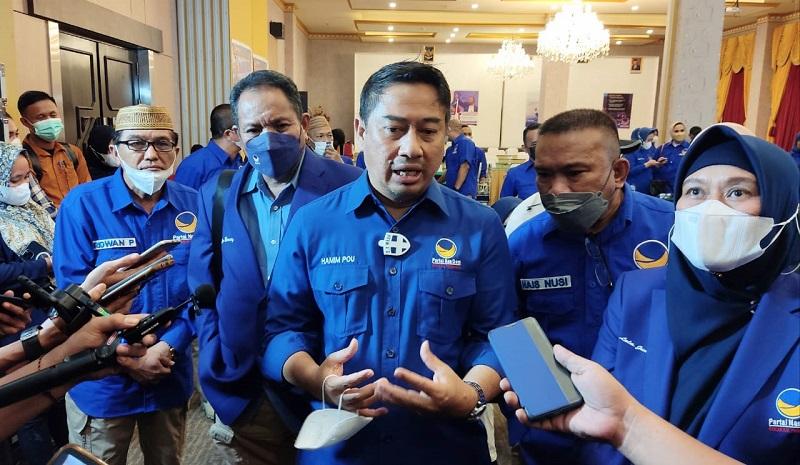 Hamim Pou Nasdem Kota Gorontalo