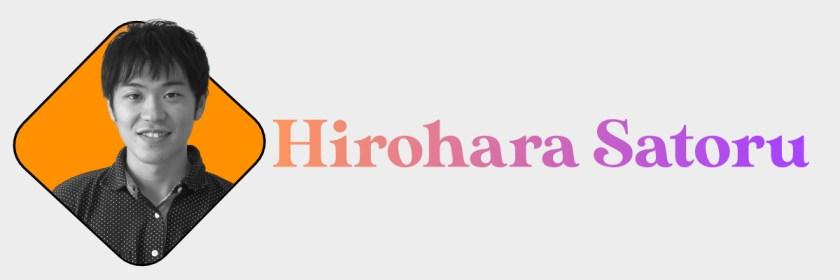 Hirohara Satoru Header