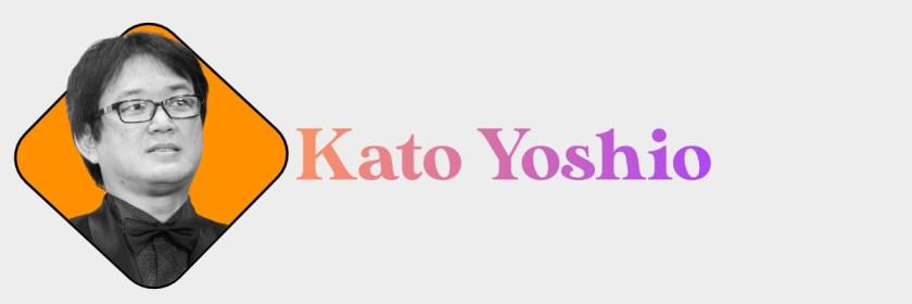 Kato Yoshio Header