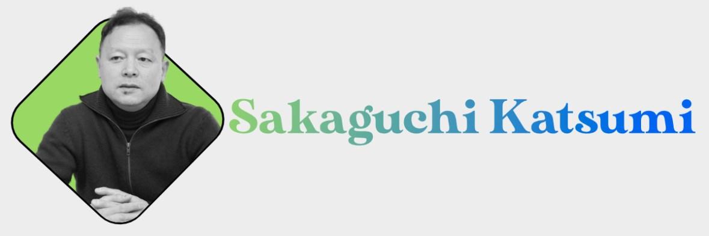 Sakaguchi Katsumi Header