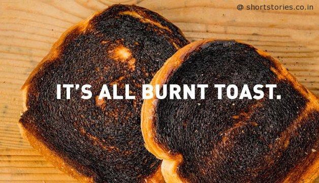 burned toast image