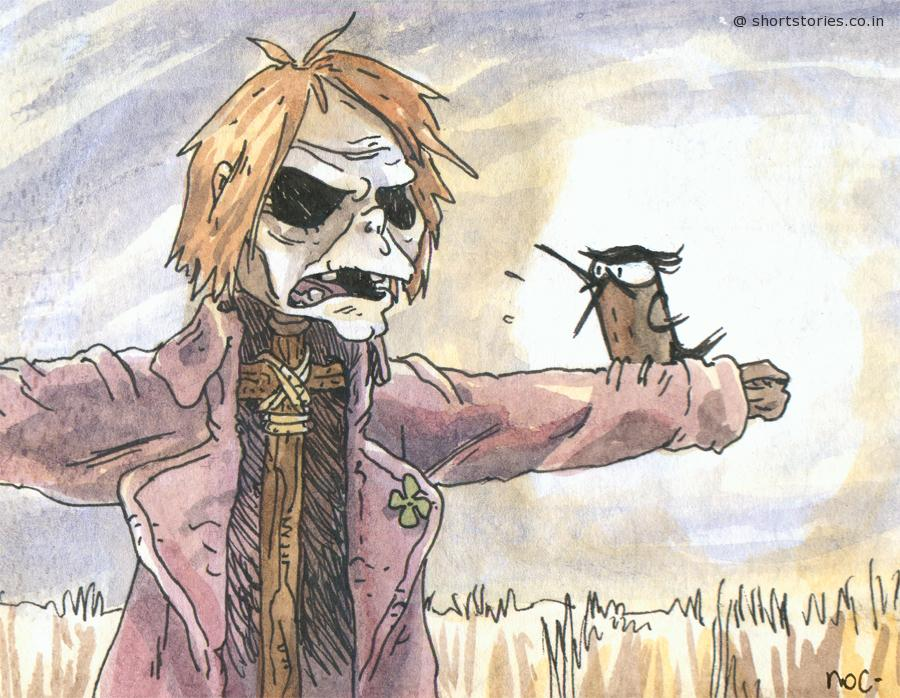 crow-and-scarecrow-shortstoriescoin-image