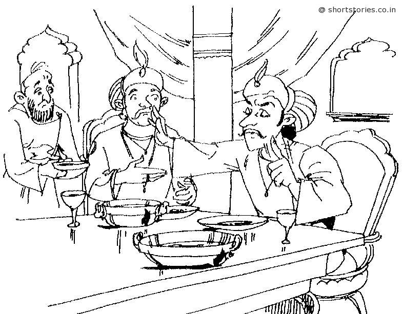 akbar-birbal-brinjal-story-shortstoriescoin-image