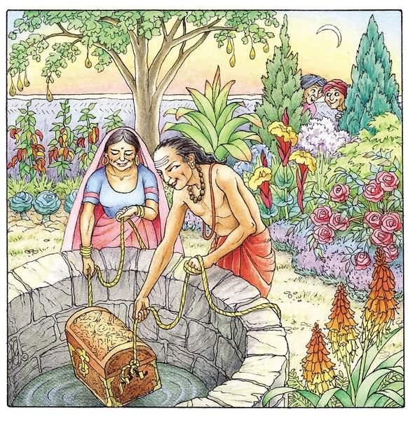 tenali raman and two thieves