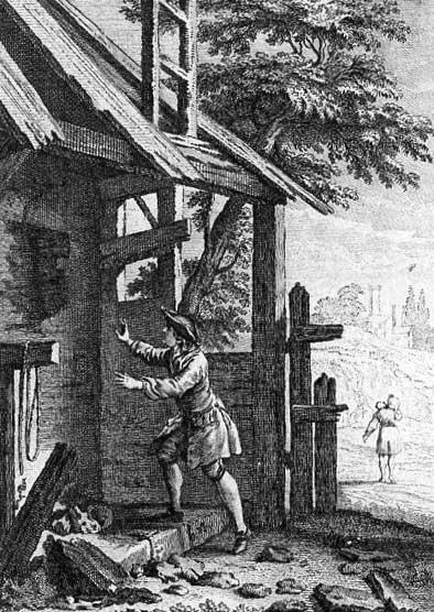 Jean de La Fontaine Fables - Book 9 - Fable 16