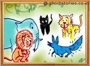 blue-jackal-panchatantra-tales-shortstoriescoin-image2