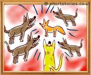 blue-jackal-panchatantra-tales-shortstoriescoin-image3