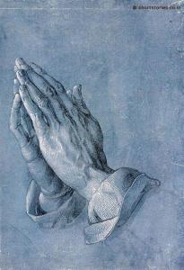 praing hands